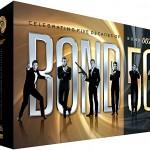 007 시리즈 50주년 박스세트 DVD로도 나온다