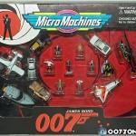 007 시리즈 마이크로머신 피겨린 세트